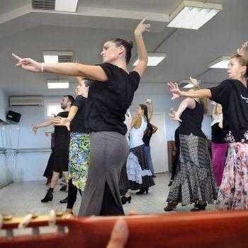 Curso de flamenco y español