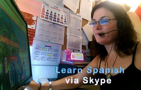 Learn Spanish via Skype